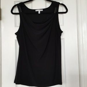Draped Neck Tank Top